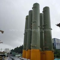 FRP Biogas Desulfurization Scrubber FRP scrubbers tower FRP Desulfurization Tower