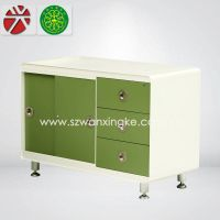 long cabby pedestal/sliding door file cabinet steel cabinet/cabinet furniture