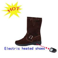 Electronic heated shoes