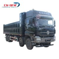 Dongfeng 420HP 8x4 Dump Truck Best Price Tipper Truck For Sale thumbnail image