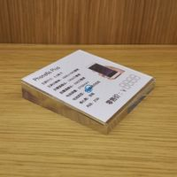 Shenzhen retail cell phone store 10x10 mobile phone acrylic price tag holder display thumbnail image