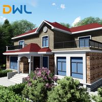 Light Steel Structure Prefabricated Villa/house/homes