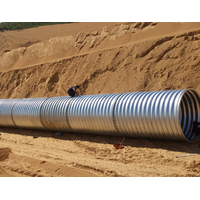 Intergral corrugated steel pipe corrugated metal culvertcorrugated metal pipe