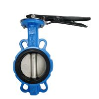 Manual operated cast iron wafer butterfly valve thumbnail image