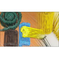 TIE WIRE, GALVANIZED, PVC COATED, ANNEALED