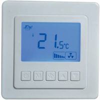 China LCD Room Thermostat Two pipe Fan Coil BAC-5000