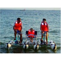 water bike, inflatable water bike, water sport, inflatable boat, water games