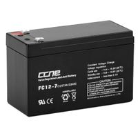 12v 7ah agm battery rechargeable deep cycle cell for emergency lighting