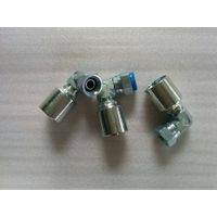 one piece hydraulic hose fitting