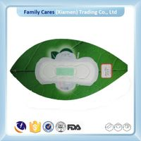 Ultra thick sanitary napkin with negative ion for lady