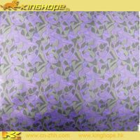 polyster transfer printed fabric