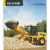 Hyundai wheel loader HL830K