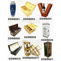 Wholesale luxury wood wine box single bottle packaging thumbnail image