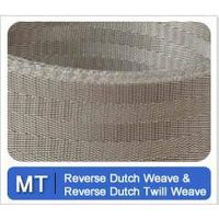 Reverse Twill Dutch weave wire cloth