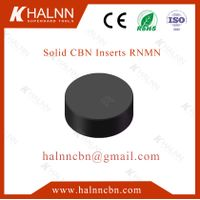 Halnn BN-S20 Solid CBN inserts process high speed steel rolls