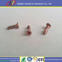Yellow Zinc Plated Phillips Self Tapping Screw