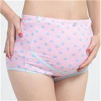 100% Cotton High Waist Antibiotic Maternity Underwear Panties Maternity Panties Cotton Plus Size