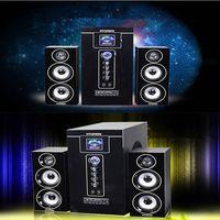 Bluetooth audio speakers family TV audio multimedia computer karaoke 2.1 high power subwoofer thumbnail image