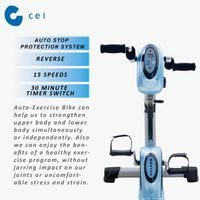 NEW Physiotherapy Leg Arm Exercise Bicycle Rehabilitation for Disable Wheelchair User CE-168