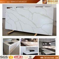 BOTON enginneered calacatte white quartz stone thumbnail image