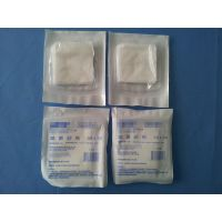 Sterile medical gauze swab