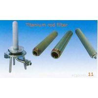 titanium rod filter