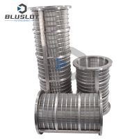 Poultry Chinese Dung Manure Solid Liquid Separator Extruder Wedge Wire Screen Filter thumbnail image