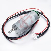 37mm high quality dc gear motor 24v with encoder from Kegu motor