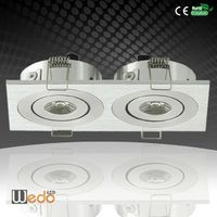 ETL Listed DC 12V 6W 2700K Rectangular LED Downlight