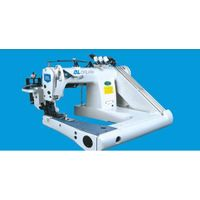 GK43305 Heavy duty double chainstitch feed-off-arm sewing machine(with cloth puller)