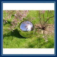 garden stainless steel gazing hollow ball/ metal globe water feature thumbnail image