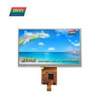 TFT LCD Module 7 inch 800480 touch display DMG80480C070_06W COF Smart Display UART TTL DWIN