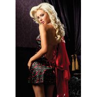 sexy nightgowns sleepwear sexy lingerie Beverly Luxurious Robe Set