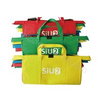 Eco Friendly 4 Sets Reusable Grocery Bags Cart Foldable Shopping Bag Trolley Bag For Supermarket thumbnail image