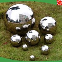 stainless steel ball garden decoration metal sphere