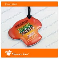 smart rewritable cute epoxy ISO 14443 nfc tag waterproof