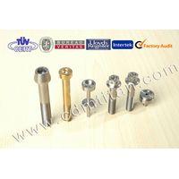 Titanium fasteners, Titanium machining parts, Titanium screw, Titanium bolt