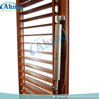 electric adjustable aluminum shutter