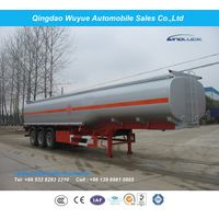 3 Axles 40000 Liters Fuel Tank Semi Trailer