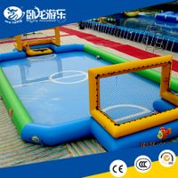 pvc inflatable pool toys, inflatable soap soccer field