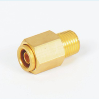 DOT fitting good quality hose pipe fittings brass connector thumbnail image