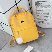 STYLEIBUY-2019 WOMEN BACKPACK BAGS CANVAS FABRIC FEMALE BOOKBAG -BAG004