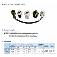 Pressure switch for air conditioner