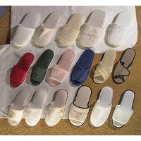hotel linen--terry & waffle & velvet & velour slippers thumbnail image