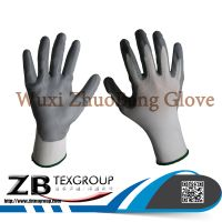 15G Nylon Micro Foam Nitrile Coated Gloves Working Gloves thumbnail image