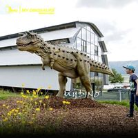 Dinosaur Theme Adventure Park Full Size Carnotaurus Model