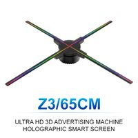 ZIoT 65cm Wifi 3D Holographic Projector Hologram Player LED Display Fan R&D Manufacturers Factory thumbnail image