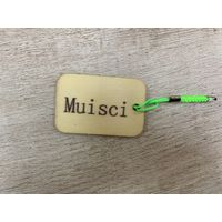 Muisci Tourism Crafts Personalized Luggage Travel Tags Consignment Card Luggage Checked Identificat