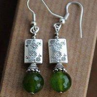 Beautiful Chinese Ethnic Tribal Tibetan Earrings Jewelry Wholesaler
