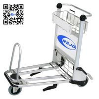 2015 hot sale hand brake airport trolley